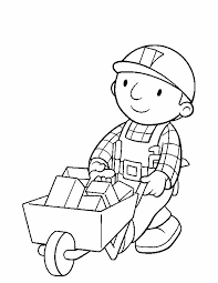 Small Picture Bob The Builder DrawingThePrintable Coloring Pages Free Download