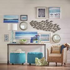 azalea park fish wall d cor by beachcrest home on house wall art with metal wall art