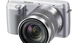 sony nex. sony alpha nex-f3 (with 18-55mm lens) nex