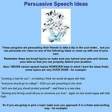 Best Photos Of Persuasive Speech Outline Sample Persuasive