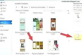 brochure microsoft word tri fold brochure microsoft word free word brochure templates