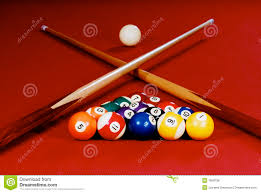 Setting Up A Pool Table Pool Balls Stock Photos Images Pictures 4960 Images