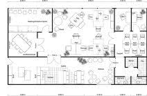 plan office layout. Contemporary Floor Plan Office Layout On And Plans RoomSketcher 5