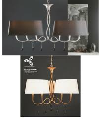 mantra modern chandelier paola
