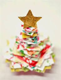 Stacked Paper Christmas Tree Craft - Things To Make And Do, Crafts ...