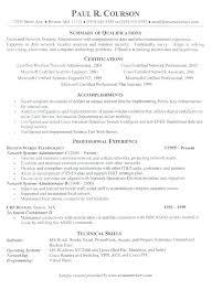 It System Administrator Resume Sample