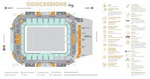 Bbva Compass Stadium Houston Seating Chart Bbva Compass Stadium Concessions Map Houston Dynamo Within