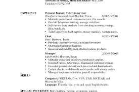 Cover Letter Personal Banker Fitness And Trainer Advice