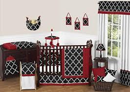 Ornamental Treellis Red Baby Nursery Bedding Fancy Harmless Safe Product  Industrial Handmade Craft Startling