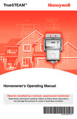 honeywell truesteam hm509 manuals honeywell truesteam hm509 homeowners operating manual