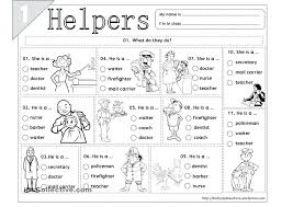 Community Helpers Worksheets Lesson Plans Community Helpers