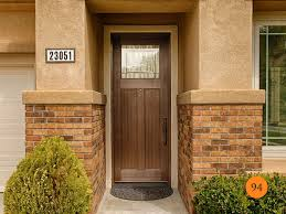 Foot Entry Doors  Fiberglass Todays Entry Doors - Exterior door glass insert replacement