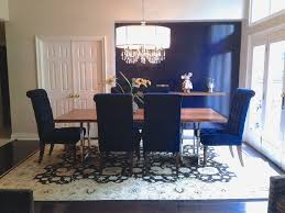 Blue dining room furniture Seaside Dining Perfect Blue Dining Room Simpleandsweets Homes Blue Dining Room Decor Ideas