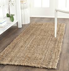 amazoncom safavieh natural fiber collection nf447a hand woven jute runner 2u00276 hall rugs u52 hall