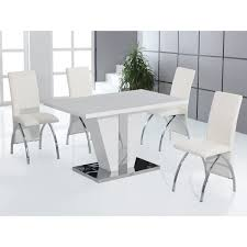 white dining table and chairs cheap