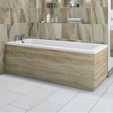 drift oak wooden bath side panel 1700