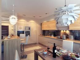 kitchen design lighting. Kitchen Ambient Lighting Interior Design Ideas -