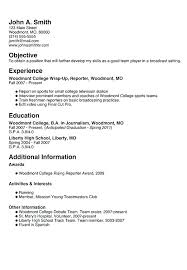 Resume For Highschool Students Adorable How To Make A College Resume How Create A College Resume Capable How