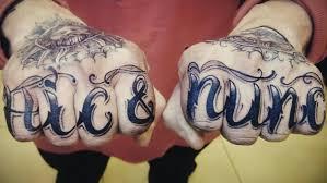 Tattoo Uploaded By вадим татуированные кулаки или надпись на