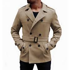 2019 mens trench coat faux suede long sleeve belted trench outerwear winter fashion double ted men windbreaker jacket coat 2018 from honey333