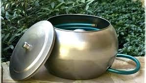 garden hose storage pot. garden hose pot with lid new bowl fresh inspiration in 6 storage