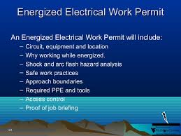 Energized Electrical Work Permit Flow Chart Introduction To Arc Flash Blast Electrical Hazards