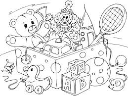 Coloring Page Toys Coloring Pages