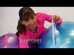 How To Fit The Right Size Exercise Ball For Your Seated Core Exercises