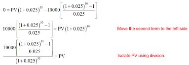 How Do You Calculate Present Value In An Annuity Math Faq