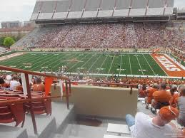 Texas Dkr Memorial Stadium Seating Chart Dkr Texas Memorial Stadium Section 27 Rateyourseats Com