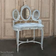 19th century french louis xvi painted vanity