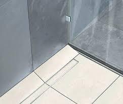 trench drain for shower schluter