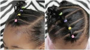 46+ best hair color ideas for short african american hair. Easy 5 Minute Toddler Hairstyle Youtube