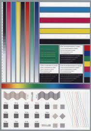 15 Color Print Test Page Colour Laser Printer Test Page