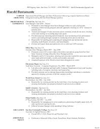 Sales Job Resume Objective Free Liability Waiver Form Template