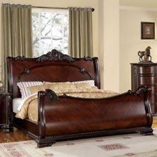 british colonial bedroom furniture. Cherry Eastern King Size Bed Bedroom Furniture Headboard Footboard Rails British Colonial M