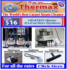 thermax steam cleaner