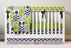 elephant nursery bedding set giraffe crib bedding navy blue
