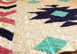 Southwest Pattern Awesome CAL Southwest Granny Square Blanket Crochet Pattern Part 48 Hooked