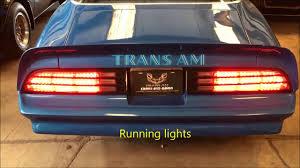 Trans Am Led Lights Premium Firebird Trans Am Best Led Tail Lamp Kit 74 78