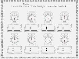 First Grade Telling Time – dailypoll.co