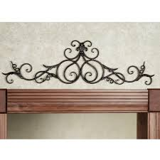 metal scroll wall decor ideas picture gallery for website metal scroll wall art