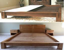 japanese bed frame. Tatami Platform Bed Frame - Honey Oak Japanese S