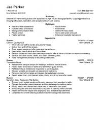 Dishwasher Resume Samples Sample Resume For A Dishwasher