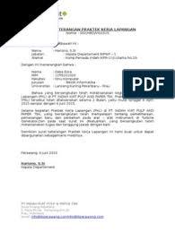 Inilah pembahasan lengkap terkait contoh surat balasan kerja praktek dari perusahaan. 7sci5wiffhrwlm
