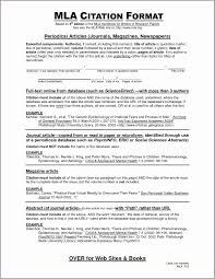 009 Mla Format For Research Paper Citation In Best Of How To Cite