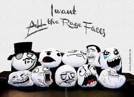 moodrush - Meme Aufkleber Rage Faces Sticker Set Moustache Pedobär via Relatably.com