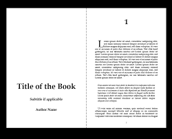 book format template creating the interior of your book with tredition templates