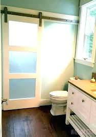 bathroom door ideas frosted glass bathroom door frosted glass shower doors trackless shower doors frosted glass