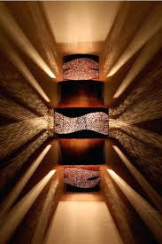 contemporary wall sconce lighting. Media Room Wall Sconces Burned Copper Stainless Steel Contemporary  Sconce Up And Down Lighting . C